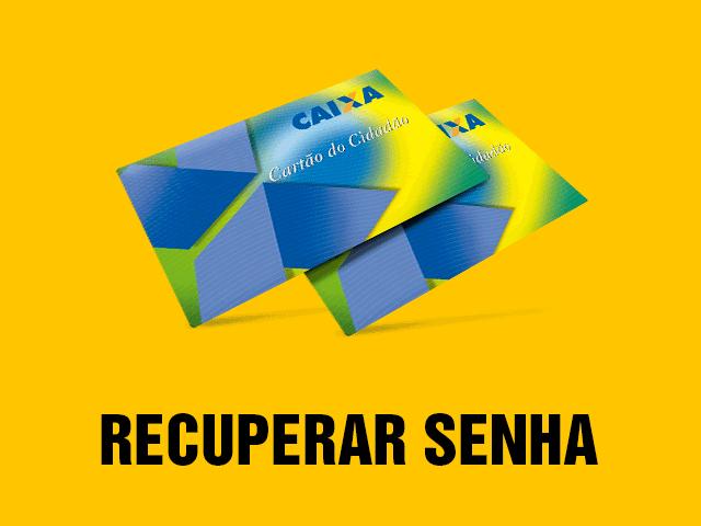 Recuperar a senha cartão cidadão